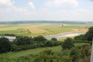 Blick auf Donau von Heuneburg aus